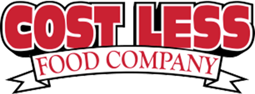 Cost Less Food Company Logo